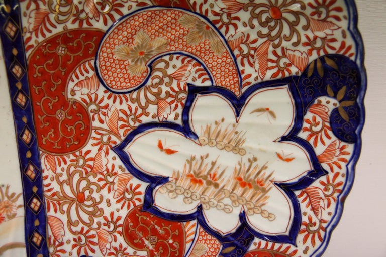 19th Century Japanese Imari Chager In Good Condition For Sale In Wilson, NC
