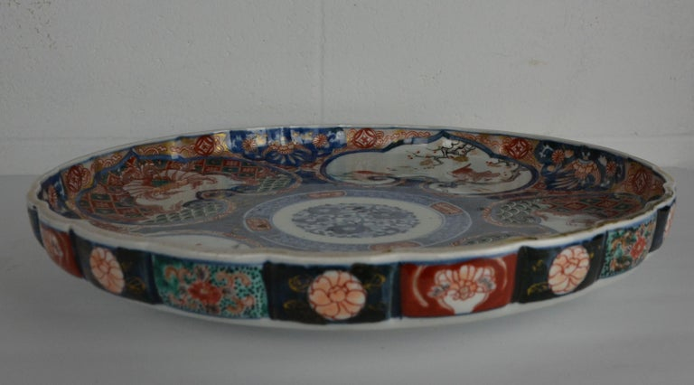 19th Century Japanese Imari Platter For Sale 3