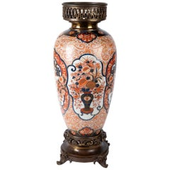 19th Century Japanese Imari Vase or Lamp