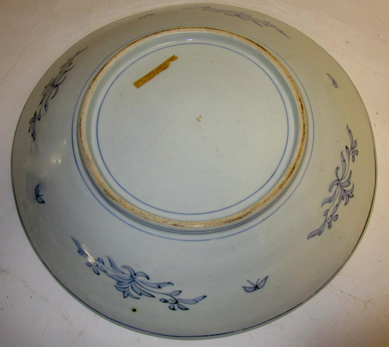 19th Century Japanese Meiji Period Imari Charger For Sale 8