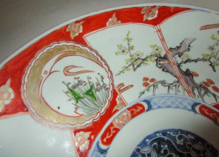 19th Century Japanese Meiji Period Imari Charger For Sale 3