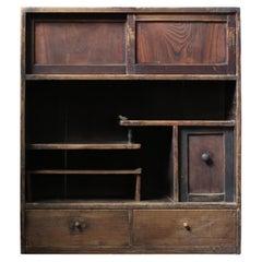 19th Century Japanese Old Shelf / Wabi-Sabi