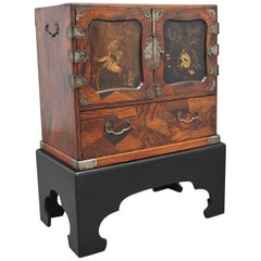19th Century Japanese Parquetry Cabinet