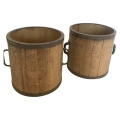 19th Century Japanese Rice Containers