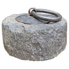 19th Century Japanese Stone Weight