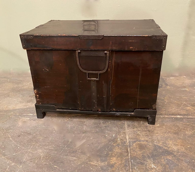 19th Century Japanese Trunk For Sale 5