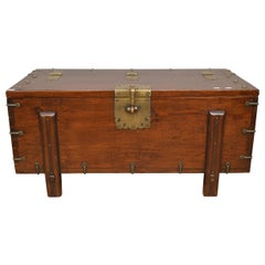 19th Century Japanese Wooden Trunk 'Karabitsu'