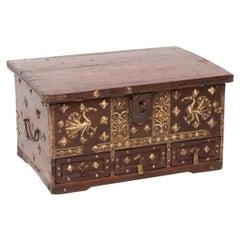 19th Century Jewellery Box from Kutch, Gujarat