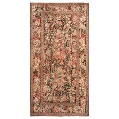 19th Century Karabagh Handwoven Wool Carpet