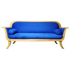 19th Century Karl Johan Swedish Biedermeier Sofa