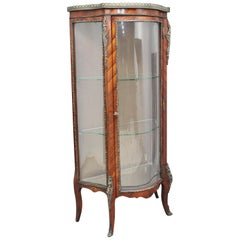 19th Century Kingwood Display Cabinet