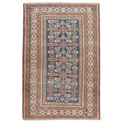 19th Century Kouba Perepedil Wool Rug Geometric, circa 1880