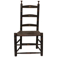 19th Century Ladderback Chair
