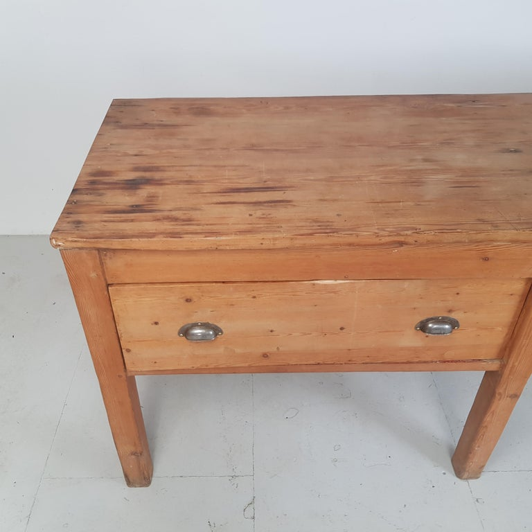 19th Century Large Bakers Table For Sale 1