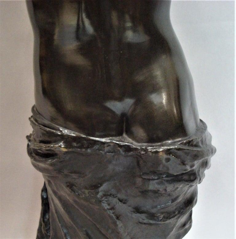 19th Century Large Bronze Grand Tour Sculpture of Venus de Milo For Sale 13
