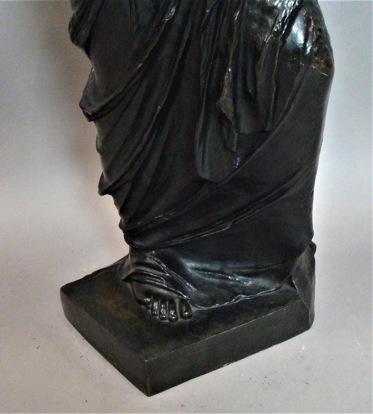 19th Century Large Bronze Grand Tour Sculpture of Venus de Milo For Sale 15