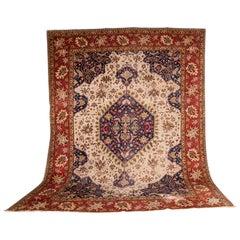19th Century Large Carpet Tabriz Rug