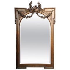 19th Century, Large Classicism Wall Mirror