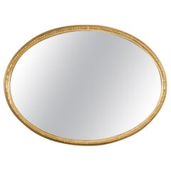 19th Century Large Giltwood Mirror