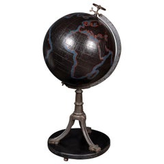 19th Century Large Globe for Brussels National Institute of Geography, c.1890