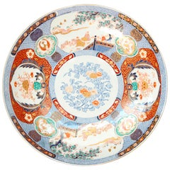 19th Century Large Imari Charger from Japan