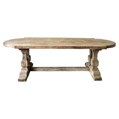 19th Century Large Monastery Table