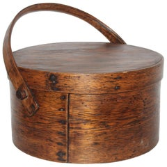 19th Century Large Pantry Box with Lid