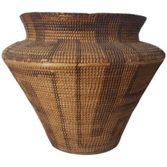 19th Century, Large Pima-Papago Native American Basket