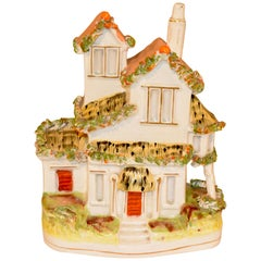19th Century Large Staffordshire Cottage
