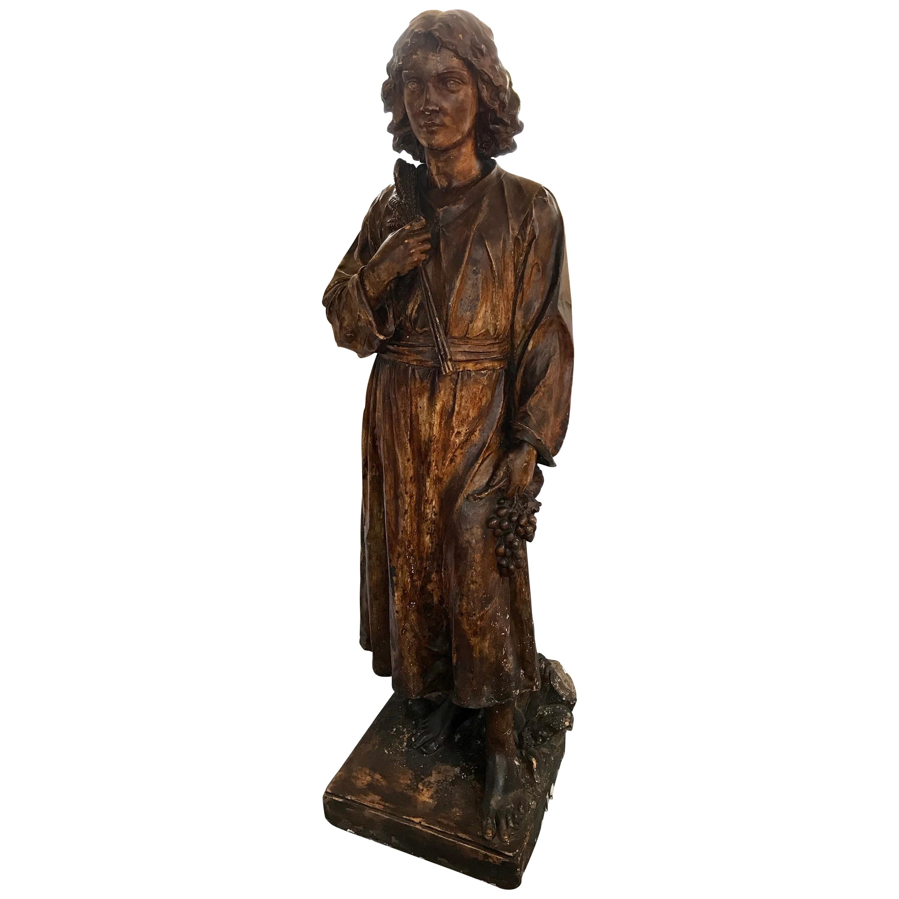 19th Century Life Size French Maquette Sculpture