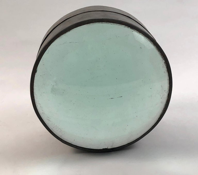 19th Century Lighthouse Glass Lens Nautical Sculpture In Good Condition For Sale In Essex, MA
