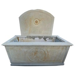 19th Century Limestone Fountain from Italy