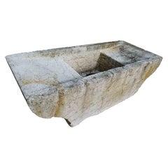 19th Century Limestone Sink
