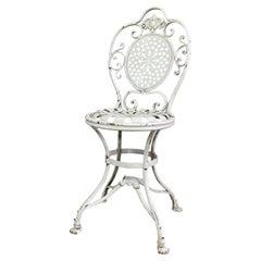 19th Century Lions Paw Arras Orangery Chair