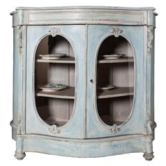 19th Century Louis Filippo Style French Vitrine