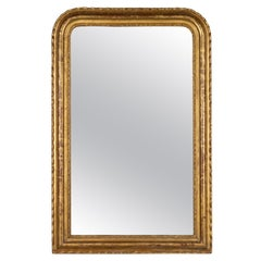 19th Century Louis Philippe Gilded Mirror