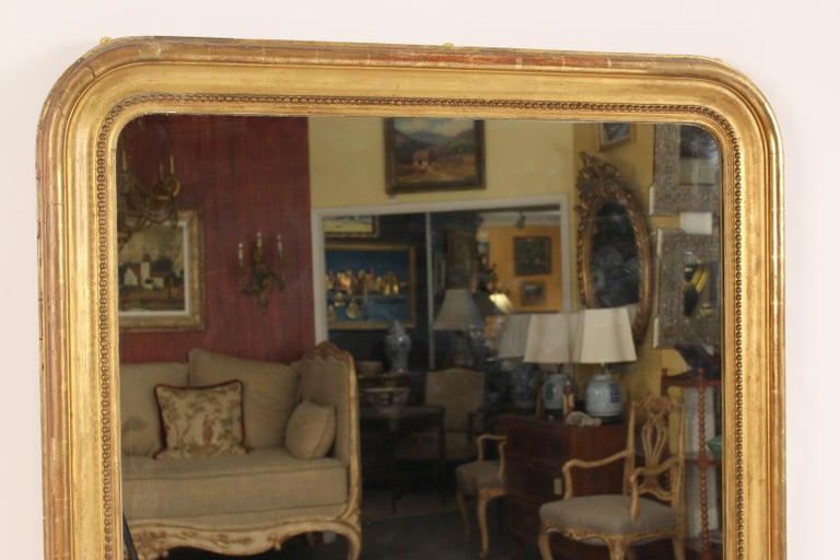 European 19th Century Louis Philippe Mirror