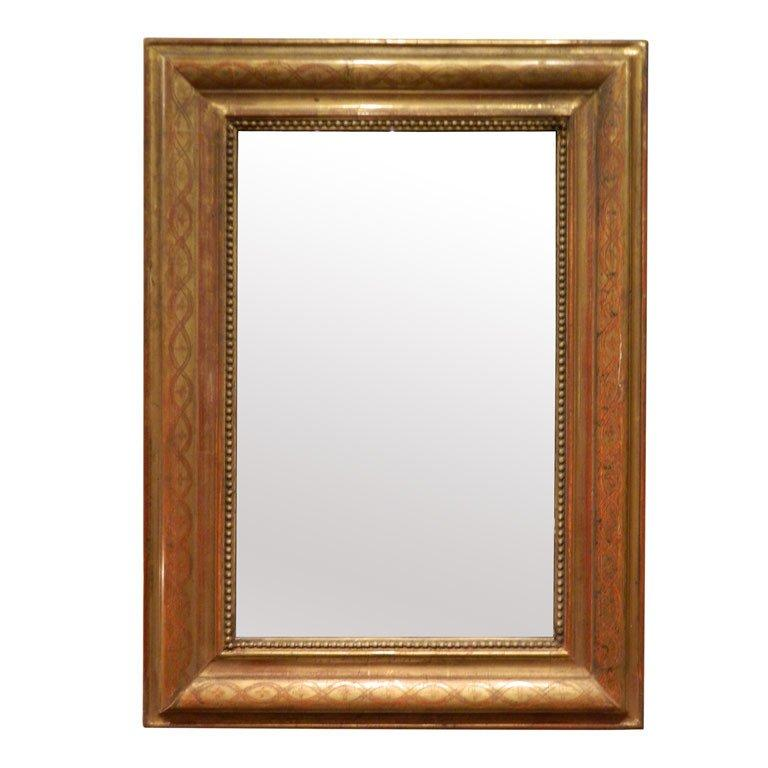 19th Century Louis Philippe Mirror For Sale