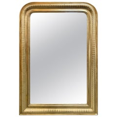 19th Century Louis Philippe Mirror with Gold Gilt