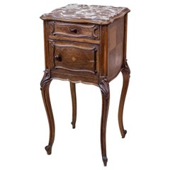 19th Century Louis Philippe Nightstand