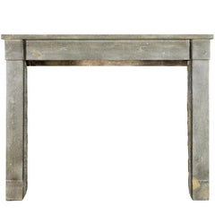19th Century Louis Philippe Original French Antique Fireplace Mantle