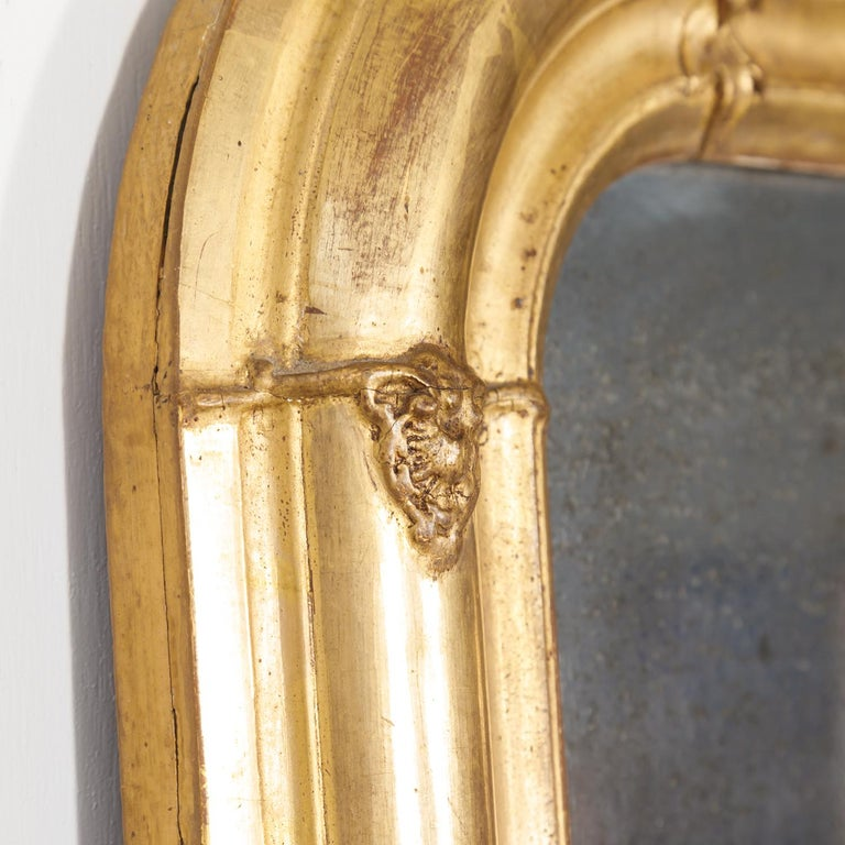 19th Century Louis Philippe Period Giltwood Mirror For Sale 3