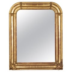 19th Century Louis Philippe Period Giltwood Mirror