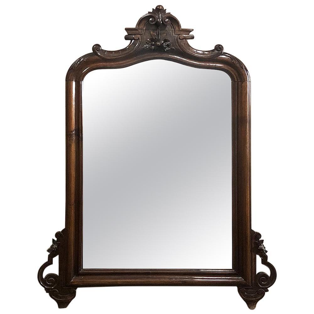19th Century Louis Philippe Period Rosewood Mirror