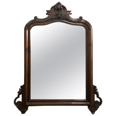 19th Century Louis Philippe Period Rosewood Mirror