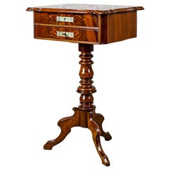 19th Century Louis Philippe Sewing Table