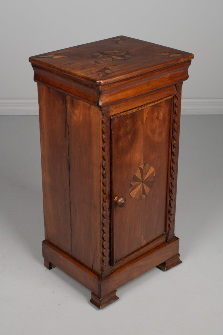 Cherry 19th Century Louis Philippe Side Table For Sale
