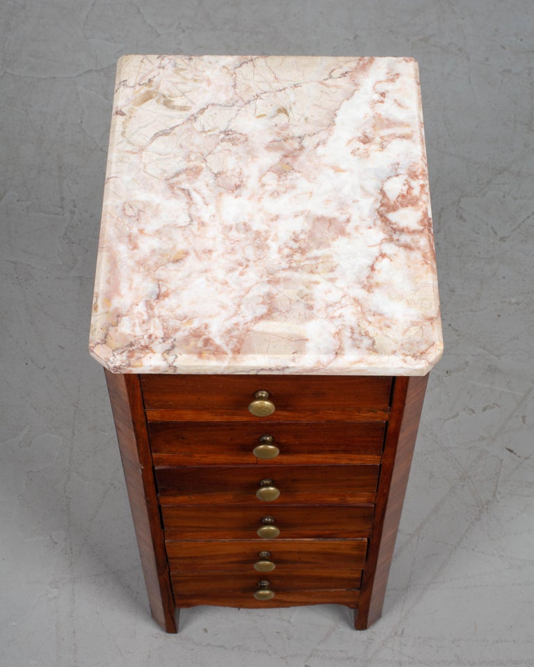 19th Century Louis Philippe Style Miniature Commode For Sale 4