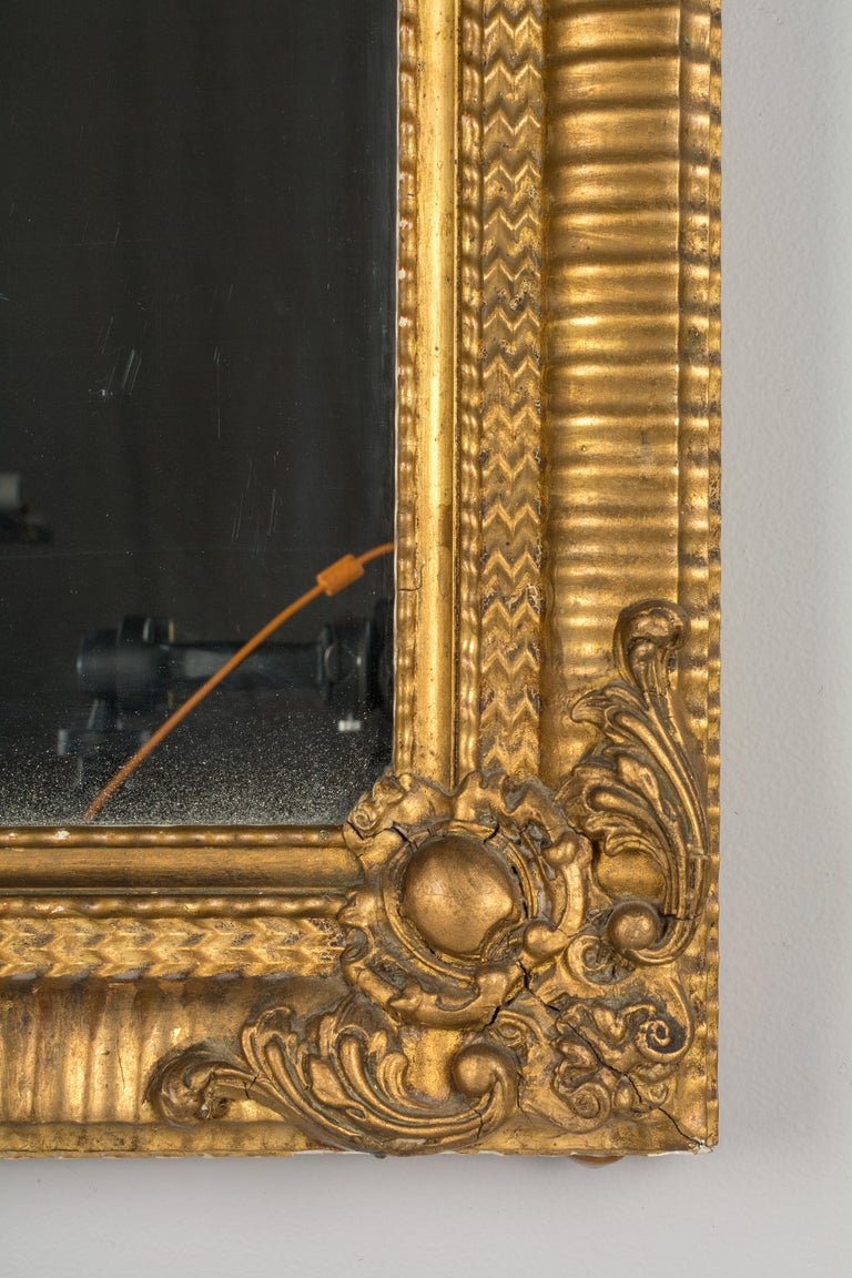 19th Century Louis Philippe Style Mirror For Sale 1