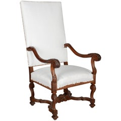19th Century Louis XIII Style Fauteuil or Armchair